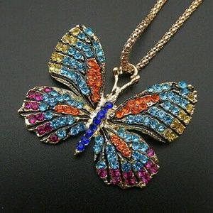 Betsey Johnson Butterfly🦋 Necklace